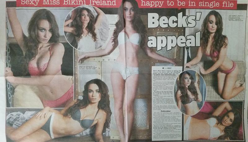 miss bikini ireland